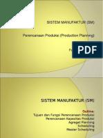 Production Planning manufactur