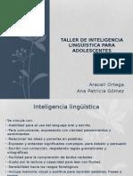 inteligencia lingüistica