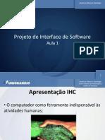 Projeto de Interface de Software