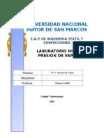 Lab 4 Presion de Vapor 2015