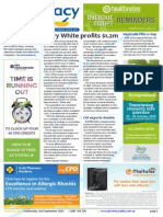 Pharmacy Daily for Wed 02 Sep 2015 - Terry White profits $1.2m, 6CPA consumer-needs focus, MedAdvisor float, Health AMPERSAND Beauty and much more