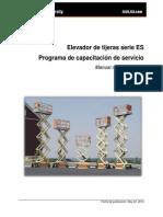 ST425 - Electric Scissor Lift Spanish Participant Manual.pdf