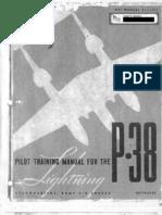 P-38 Lightning Flight Manual