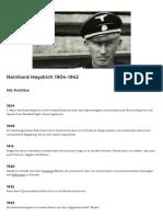 LeMOBiografie-Biografie Reinhard Heydrich