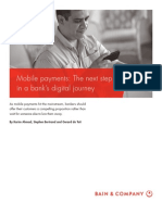 BAIN BRIEF Mobile Payments the Next Step in a Banks Digital Journey