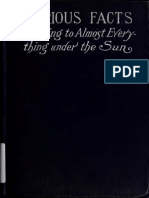 A Book of Curious Facts of General Interest Relating to Almost Everything Under the Sun