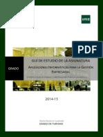 Guía Didáctica sobre Aplicaciones informáticas para la empresa