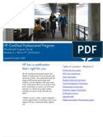HP Certification Details