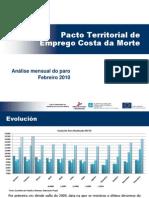Informe Paro Rexistrado Febreiro 2010_ Costa Da Morte