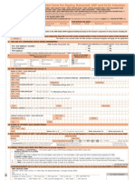 HDFC Tax Saver form