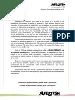 Carta a Alejandro Navarro - Director Sede Concepción
