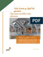 Gestión Lean y Ágil de Proyectos