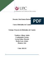 Trabajo de Hidraulica - Informe Completo