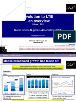 Evolution to LTE an Overview February 2010