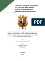 Tesis. Segregación Socio-espacial. Manuel de Los Santos