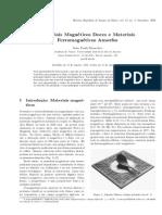 2000 Artigo Sinnecker MateriaisMagneticosFerromagneticos