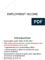 Employment Income