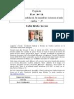 Listado-recomendados Plan Lector Primaria-Carlos Sanchez