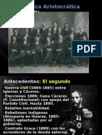 La República Conservadora (1899-1919)