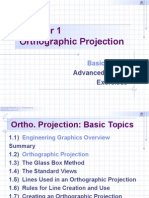 Chapter 1 - Orthographic Projection