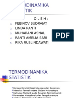 Bab III Termodinamika Statistik2