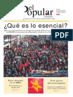 El Popular 321 Órgano de Prensa Oficial del Partido Comunista de Uruguay.
