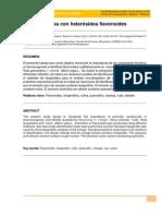 Drogas con heterósidos flavonoides