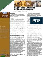 Poultry Litter - Preventing Illness