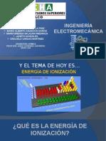 Energía de Ionizacion Expo