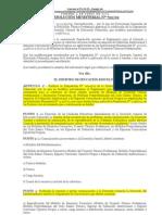 Resolucion Ministerial 722 Del 2009