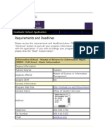 Document for applying requirements