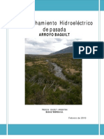 Aprovec Hamie Nt o Hidroelect Rico De