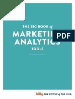 Bitly eBook Big Book of Analytics