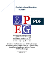 APEGBC Technical and Practice Bulletin on Mid Rise Buildings