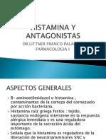Histamina y Antagonistas