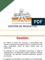 g 001 Gestión de Productos