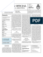 Boletin Oficial 02-03-10 Segunda Seccion