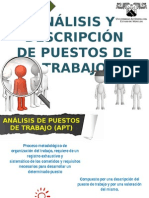 Análisis y Descripción de Puestos de Trabajo