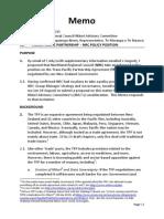Memo to NRC MAC_C M-Ikenn_Trans Pacific Partnership Agreement_2sep15