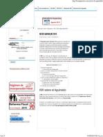 ISR de Aguinaldo 2015 - Los Impuestos