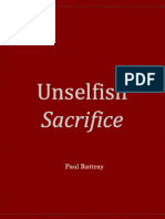 Unselfish Sacrifice
