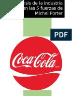 Analisis de La Industria Basado en Las 5 Fuerzas de Michel Porte