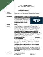 PIKOTEK VCXT Data Sheet High Temprature