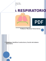 Sistema Respiratorio 5 -2015