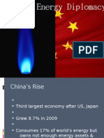 Energy Diplomacy by China