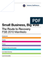 Small Business, Big Vote-UK-2010