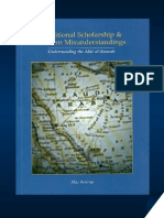 7125693 Traditional Scholarship and Modern Misunderstandings