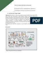 Propuestas y Seleccion de Tecnologia Amoniaco