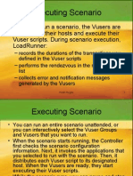 Load Runner Executing Scenarios Chapter 4