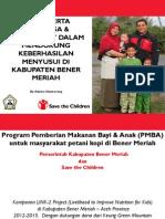 Peran Serta keluarga & Masyarakat dalam Mendukung Keberhasilan Menyusui di Kabupaten Bener Meriah